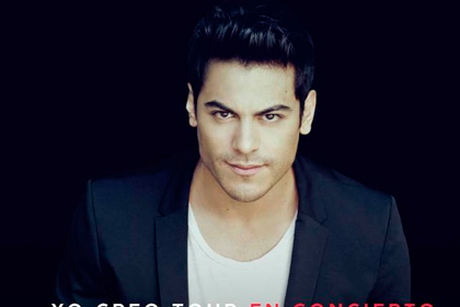 Carlos Rivera regresa al Auditorio Nacional